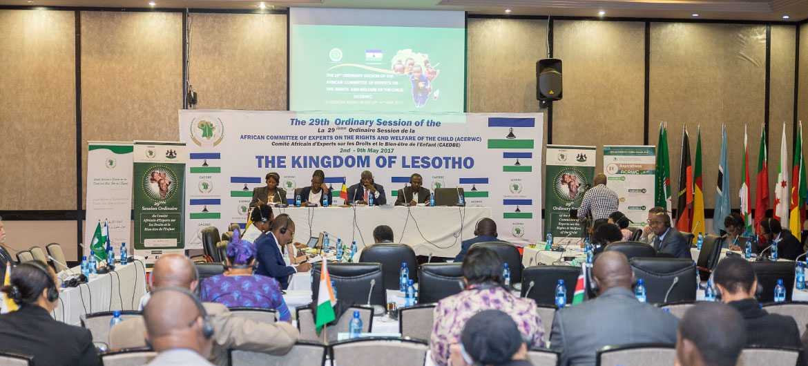 ACERWC general comment consultations